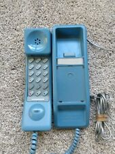 Vintage Northern Telecom Solo Teal Desk Wall Telephone Phone Works