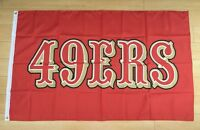 San Francisco 49ers 3x5 ft Flag Banner