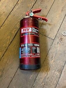 FEV car extinguisher Race/Track OUT OF DATE