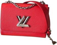 Louis Vuitton Twist MM Epi Leather Coquelicot