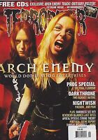 #163 TERRORIZER vintage music rock magazine - ARCH ENEMY - DARKTHRONE