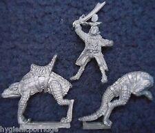 1985 Elfo Oscuro C21 K fría Rider agard Ciudadela caballería Warhammer ejército Drow D&D