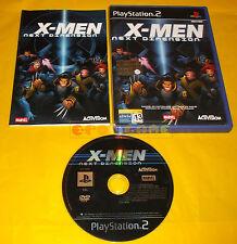 X-MEN NEXT DIMENSION Ps2 Versione Ufficiale Italiana 1ª Edizione ○ COMPLETO - A8