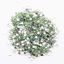 New 2000pcs Crystal Flatback Acrylic Rhinestones Beads Nail Art/Craft 2mm