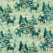 Batik Forest Patchwork Weihnachten Stoffe Patchworkstoffe Weihnachtsstoffe Deko