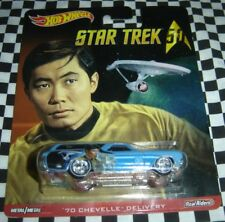 Star Trek 50 Sulu '70 Chevelle Delivery Hot Wheels 2016 NEW ~ 887961253160