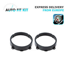 "Alfa Romeo 147 2001- Speaker Adapter Rings 165mm 16cm 6.5"" Front and Rear Door"