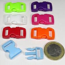12 Cierres Para Pulsera Mochila 29x15mm T561A Bracelet Clasps Fermoirs Plastic