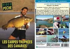 Les carpes trophées des Canaries  - Pêche de la carpe - Vidéo Pêche