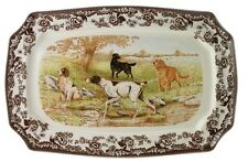 """Spode Woodland """"Hunting Dogs""""  17.5in"""