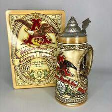 Anheuser-Busch Budweiser Lidded Stein 'A Series' - Collector Tin #23808