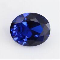 Beautiful Unheated 8.05ct 10x12mm Blue Tanzanite Oval Shape AAAAA Gemstone