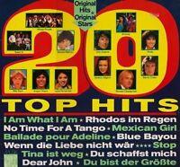 20 Top Hits Dschinghis Khan, Peter Maffay, Bernie Paul, Bernd Clüver.. [LP]