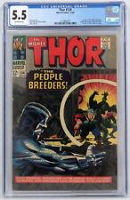 Marvel Comics Thor #134 CGC 5.5 1st App High Evolutionary Man-Beast Fafnir 1966