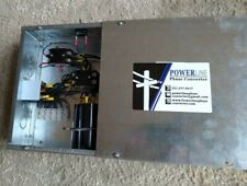 3 HP Rotary Phase Converter Panel With Push Button ON/OFF