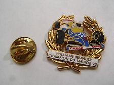 PIN'S arthus bertrand williams renault champion du monde 1992