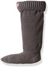 Hunter Grey Half Cardigan Boot Socks for Tall Hunter Boots Size Large 8-10 0814