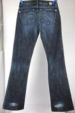 ROCK AND REPUBLIC JAGUAR Women's Stretch Blue Jeans Sz26 (30X32) MINT AUTHENTIC