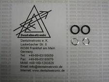 2 O-Ring + 2 Feder für KaVo Rotor 655B, 660B 6000 7000B 8000B M9000L Turbine