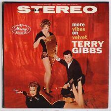 TERRY GIBBS: More Vibes on Velvet USA MERCURY Jazz DG Stereo Vinyl LP VG++