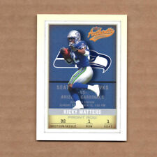 2002 Fleer Authentix Front Row #77 Ricky Watters 086/150 Seattle Seahawks
