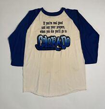 Vintage 70s Colorado Raglan Graphic Shirt