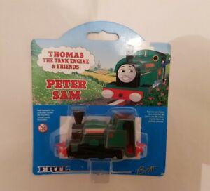 Thomas The Tank Engine & Friends ERTL PETER SAM TRAIN DIECAST NEW & SEALED 1996