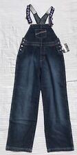 NEW - FUBU - Spellout Strap Denim Overalls Jeans - Men's Medium