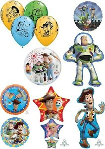 Disney Pixar Toy Story Woody Buzz Helium Balloons Party Ware Decoration Gift