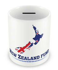 New Zealand Fund Money Box - Gift Idea Holiday Piggy Bank travelling present #80