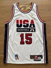 Magic Johnson Team USA Nike Basketball Authentic Vintage Nike NBA Jersey Size L