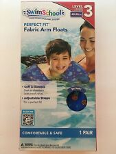 Swim School Perfect Fit Fabric Arm Floats Level 3   40 - 80 LBS Water Wings