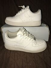 Nike Air Force 1 Low White/White (GS)314192-117 size 7Y SUPER CLEAN!!!