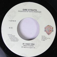Rock 45 Mark Knopfler - If I Had You / So Far Away On Dire Straits