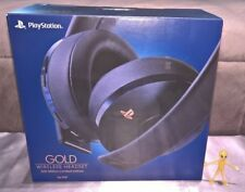 Sony 500 Million Limited Edition PS4 Gold 7.1 VSS Gaming Headset CUHYA-0080 BNIB