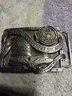 Vintage Operatin Desert Storm Medal Belt Buckle