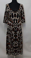 Temperley London Juno Stretch-Knit jacquard Short Sleeve Sample Dress SIZE M   #