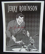 JERRY ROBINSON Signed Batman Robin Joker Art Print 2008 SDCC Comic Con Exclusive