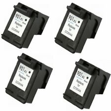 4PK HP 901XL Ink Cartridge CC654AN OfficeJet 4500 OfficeJet J4580 Inkjet Printer