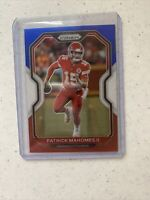 2020 Panini Prizm NFL Patrick Mahomes Red White and Blue Refractor