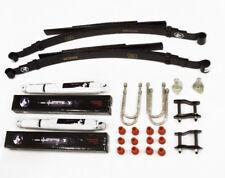 Suspension Kit Rear For Ford Ranger Pickup ER24 2.5TD 12V 99-07 (Springs+Shocks)