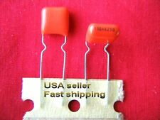 3 pcs - .15uf  (0.15uf, 150nf) 250v metalized poly film capacitors FREE SHIPPING