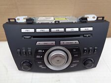 Mazda 3 Radio Stereo CD Player 6 Disc Changer BFH666ARX 14792824