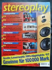 STEREOPLAY 6/97,ROGERS LS 3/ 5a,INFINITY KAPPA 90,ELECTROCOMPANIET ECI 1,AUDIO
