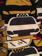 LulaRoe TC Taxi Leggings BNWT HTF Unicorn Yellow Cab Checker Cab NY Vacation