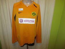 """Borussia Dortmund Nike Spieler Sweatshirt/Pullover 2006/07 """"Evonik"""" Gr.L"""