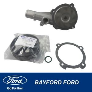 WATER PUMP KIT WITH PULLEY FORD BA BF FG TERRITORY SX SY SZ SZ GENUINE FORD PART