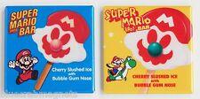 Super Mario Bros Ice Cream FRIDGE MAGNET Set (2 x 2 inches each) bar yoshi sign