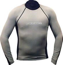 Rashie Shirt Grey / Navy SPF50 Made By Burke Size XXS Kids Rashy