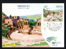 Italy 2017: Summit g7-Official Postcard Poste Italiane